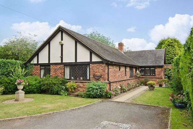 3 Bedrooms Detached Bungalow for sale in The Moorings, Alrewas, Burton-On-Trent
