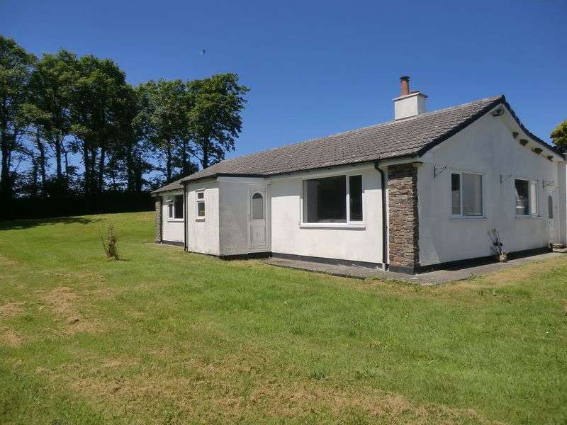 4 Bedrooms Detached Bungalow for sale in Bradworthy, Nr. Holsworthy