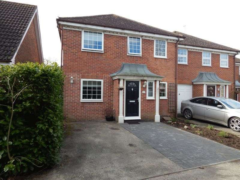 3 Bedrooms Semi Detached House for sale in Chineham, Basingstoke