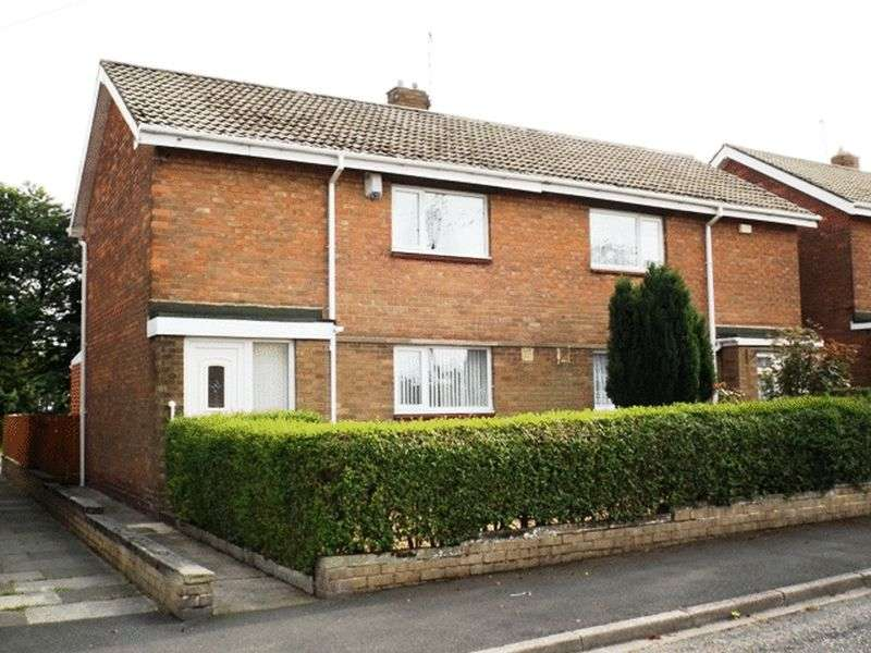 2 Bedrooms Semi Detached House for sale in Patton Way, Pegswood - Two Bedroom Semi Detached House