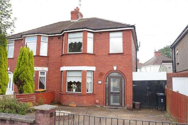 3 Bedrooms Semi Detached House for sale in Cardiff Road, Newport