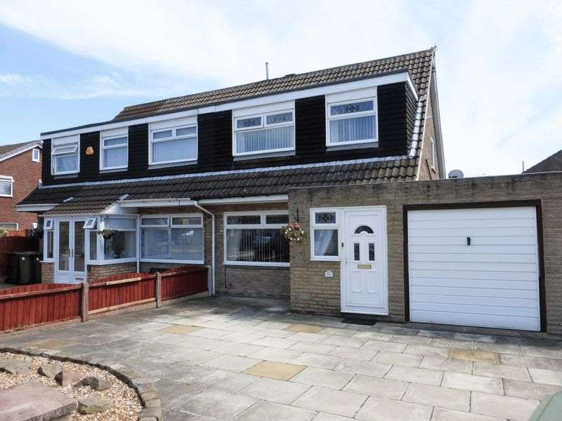 3 Bedrooms Semi Detached House for sale in Hartland Avenue, Marshside, Southport