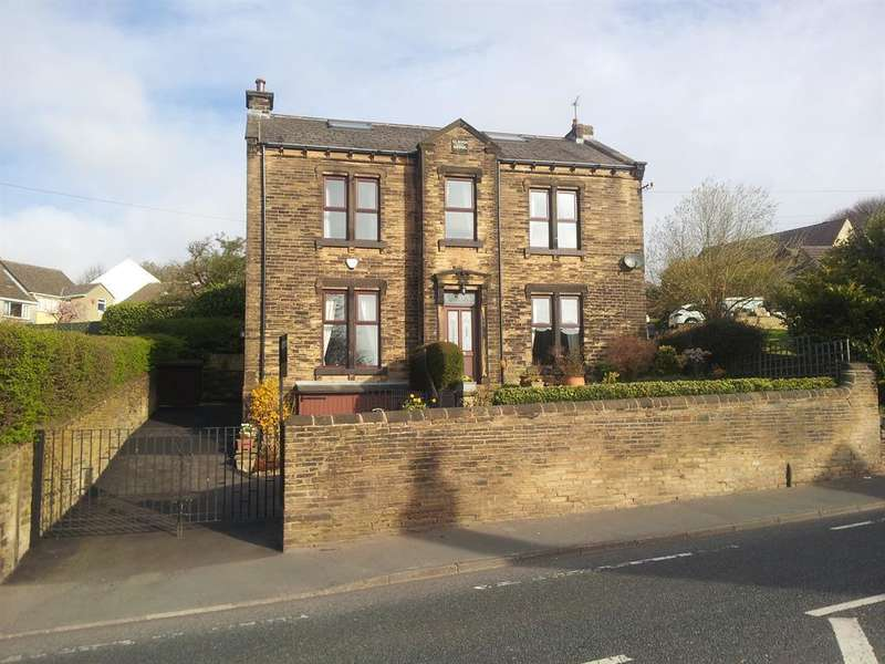 4 Bedrooms Detached House for sale in Halifax Road, Shelf, Halifax, HX3 7JT
