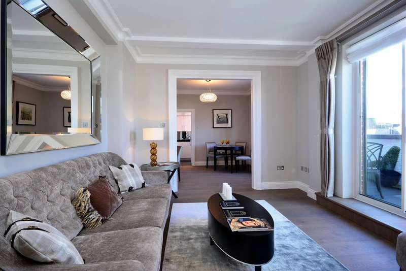 1 Bedroom Penthouse Flat for sale in Hallam Street, Marylebone, W1W