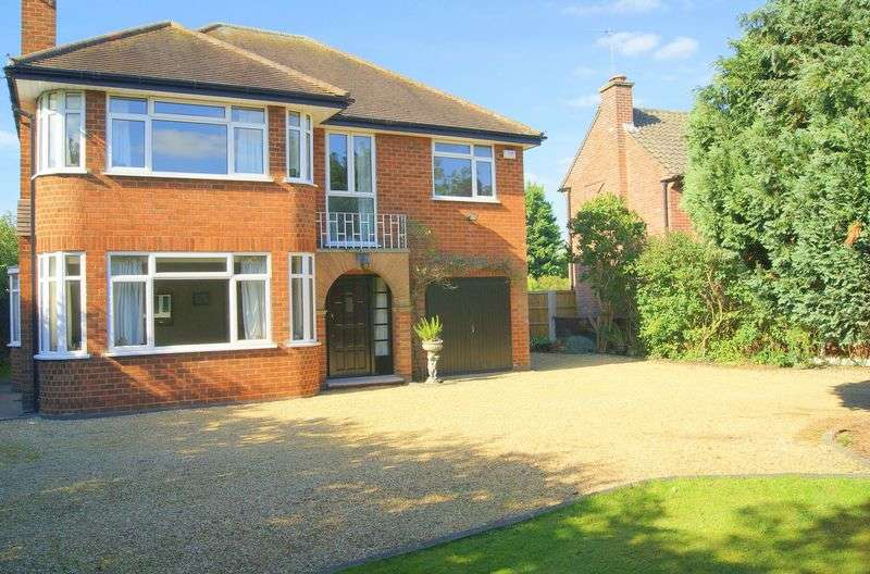 4 Bedrooms Detached House for sale in Manthorpe Road, Grantham