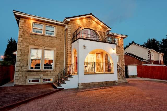 4 Bedrooms Detached Villa House for sale in Ashley Drive, Bothwell, Glasgow, G71 8BS