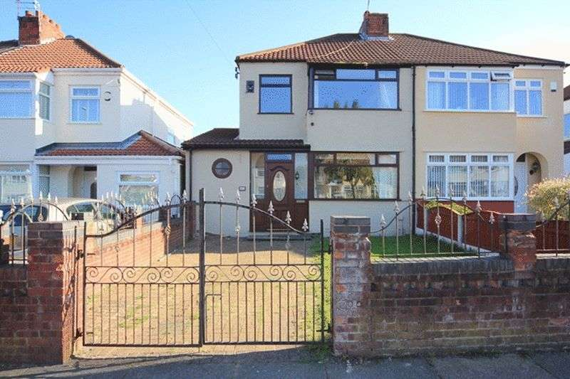 3 Bedrooms Semi Detached House for sale in Campbell Drive, Swanside, Liverpool, L14