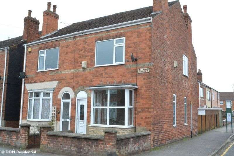 3 Bedrooms Semi Detached House for sale in Balfour Street, Gainsborough