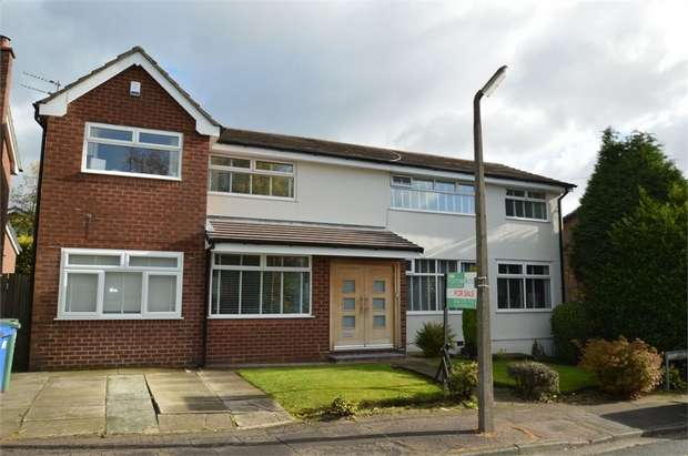 5 Bedrooms Detached House for sale in Ten Acre Drive, Whitefield, MANCHESTER, Lancashire
