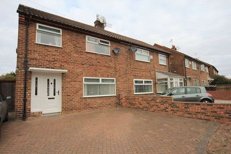 3 Bedrooms Semi Detached House for sale in Boundary Road, Huyton, Liverpool, L36