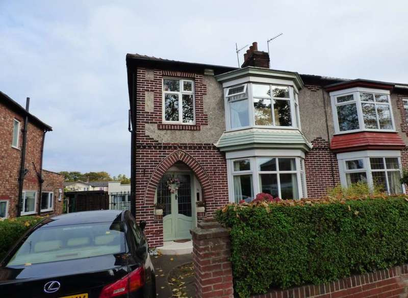 3 Bedrooms Semi Detached House for sale in Ings Road, Redcar