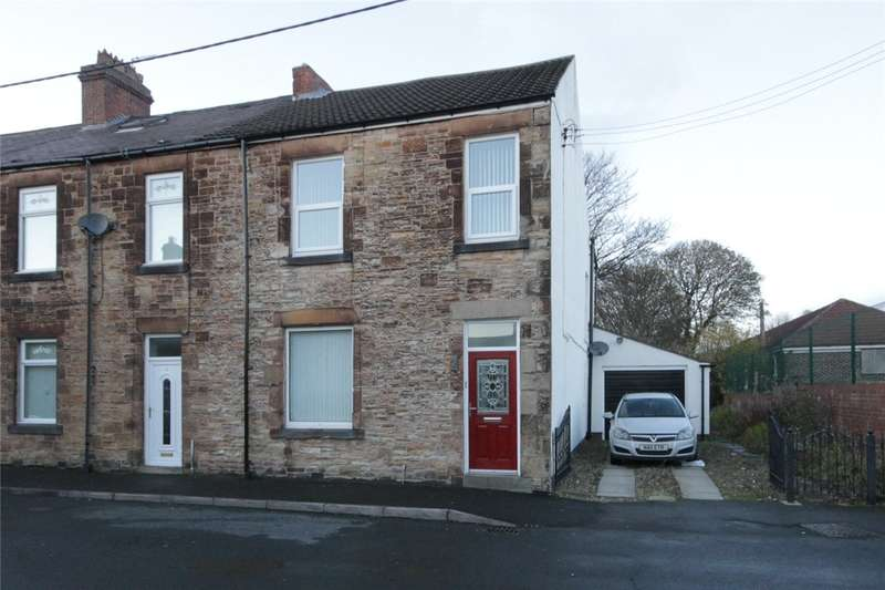 3 Bedrooms End Of Terrace House for sale in Stanley Street, Consett, County Durham, DH8