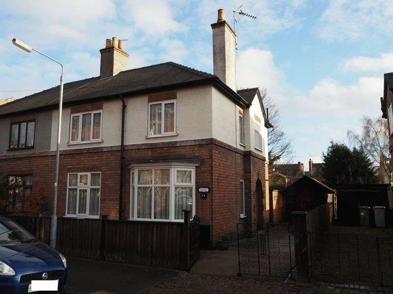 3 Bedrooms Semi Detached House for sale in Harcourt Street, Newark