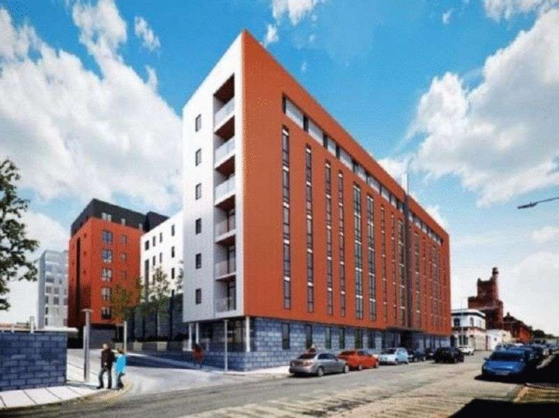 1 Bedroom Flat for sale in Plaza Boulevard, Liverpool