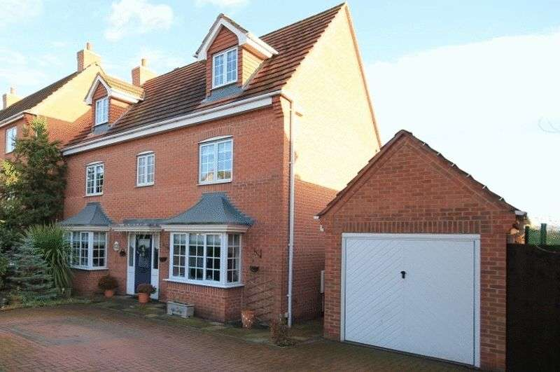 5 Bedrooms Detached House for sale in GLOVER ROAD, CASTLE DONINGTON