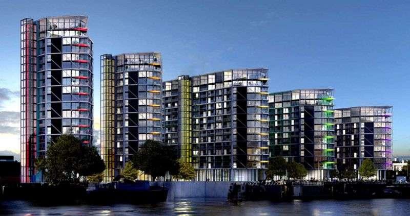 3 Bedrooms Flat for sale in Riverlight 5, 9 Nine Elms Ln, SW8