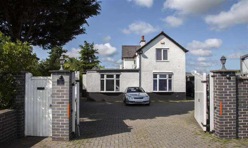 3 Bedrooms Detached House for sale in Parkgate Road, Woodbank, Chester