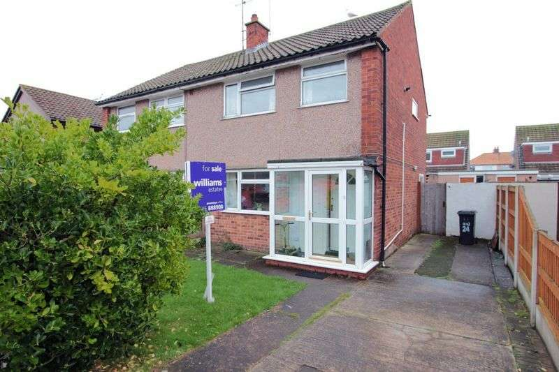 3 Bedrooms Semi Detached House for sale in Derwent Close, Prestatyn