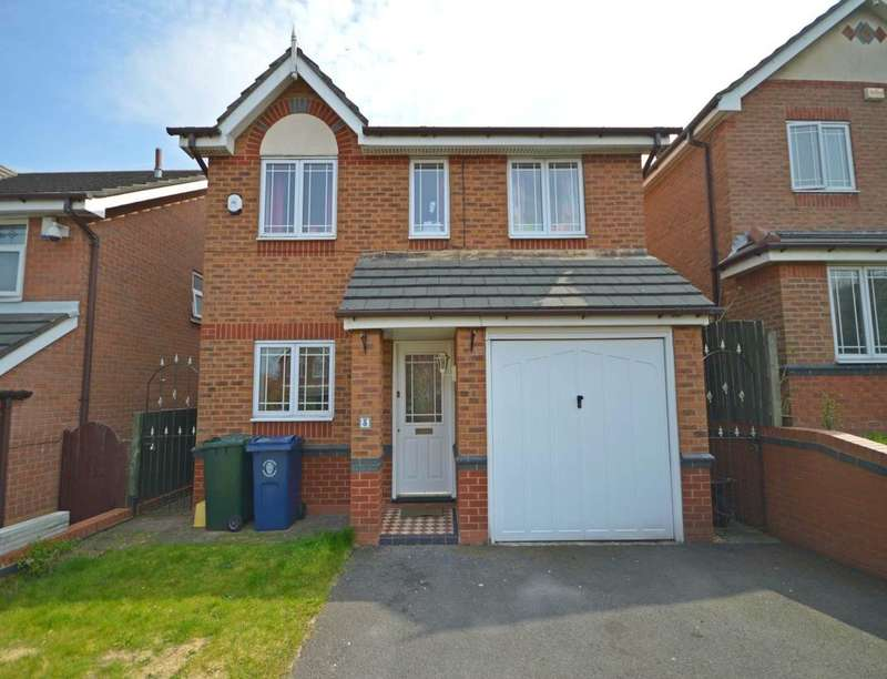 3 Bedrooms Detached House for sale in Crossfield Road, Skelmersdale, WN8