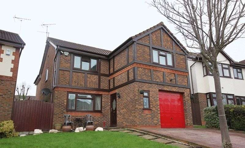 4 Bedrooms Detached House for sale in Penhale Close, Aigburth, Liverpool, L17