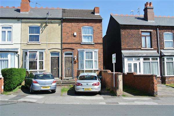3 Bedrooms End Of Terrace House for sale in Lord Street, Walsall