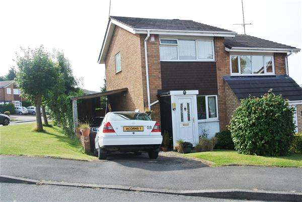 2 Bedrooms Semi Detached House for sale in Pommel Close, Walsall