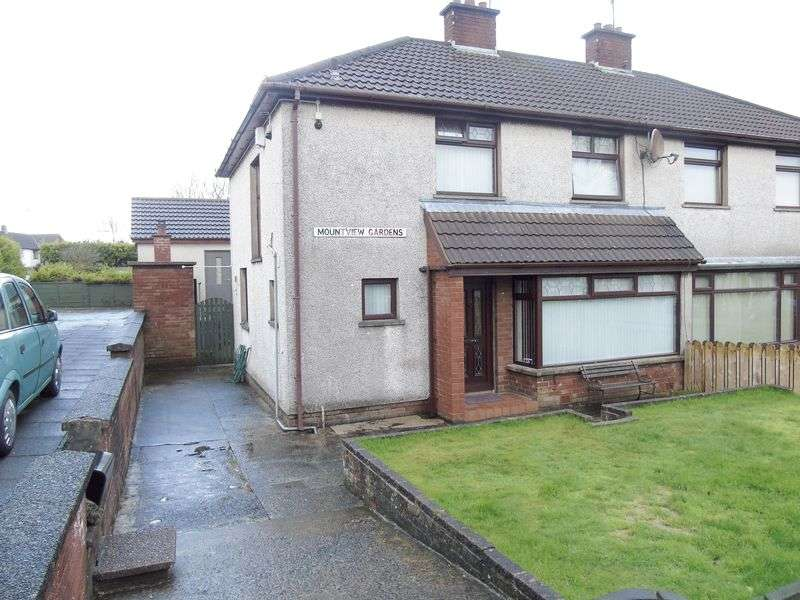 3 Bedrooms Semi Detached House for sale in Mountview Gardens, Coleraine