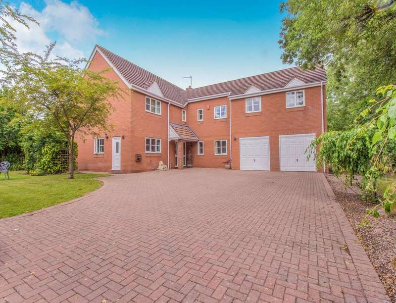 5 Bedrooms Detached House for sale in The Hawthorns Brockhill Lane, Norton, WORCESTER, WR5