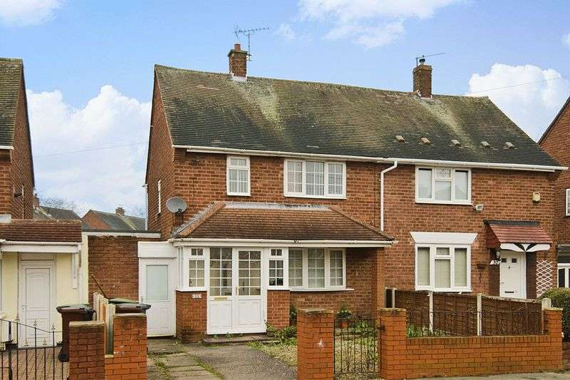 3 Bedrooms Semi Detached House for sale in Bargery Road, Wednesfield