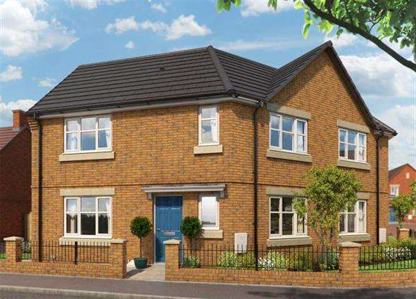 3 Bedrooms Semi Detached House for sale in The Primrose, Cannock