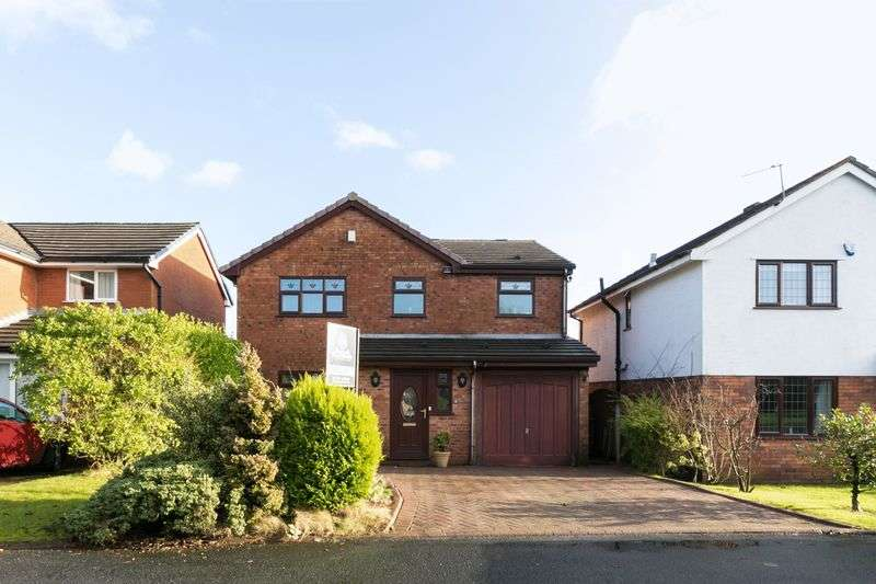 4 Bedrooms Detached House for sale in Colnbrook, Standish, WN6 0RX