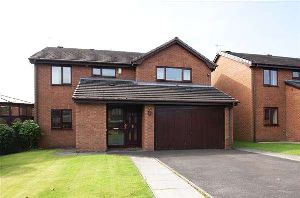 4 Bedrooms Detached House for sale in Brooklet Close, Springhead