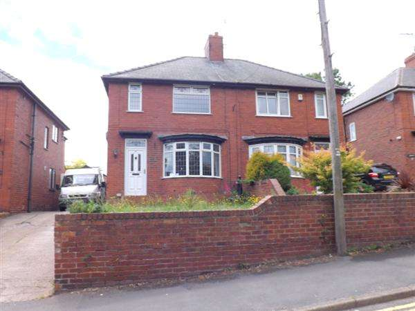 3 Bedrooms Semi Detached House for sale in Skinner Street, Creswell, Worksop