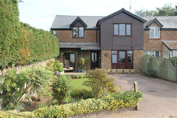 2 Bedrooms Semi Detached House for sale in Brush Cottage, Brampton Abbotts, Ross-on-Wye