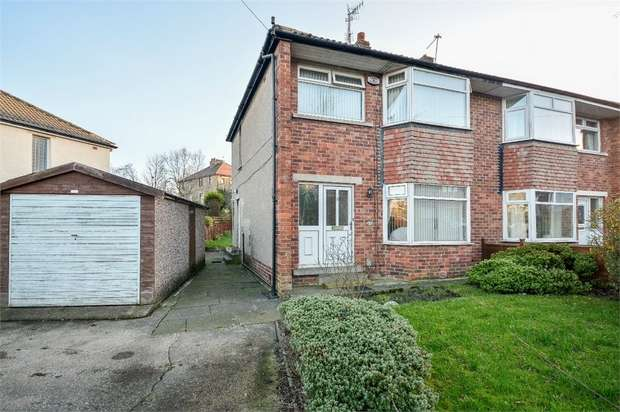 3 Bedrooms Semi Detached House for sale in Birch Grove, Bradford, West Yorkshire