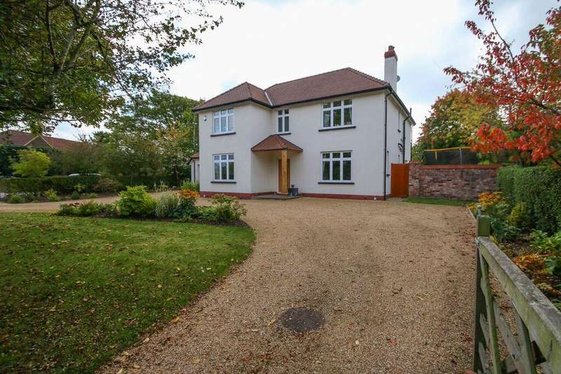 4 Bedrooms Property for sale in Deans End House, Stockport Road, Thelwall, WARRINGTON, WA4