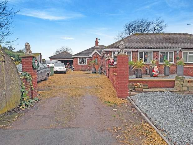 3 Bedrooms Semi Detached Bungalow for sale in West End, Seaton Ross, York