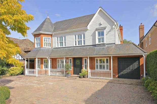 6 Bedrooms Detached House for sale in Barham Avenue, Elstree, Borehamwood, Hertfordshire