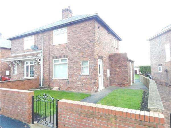 2 Bedrooms Semi Detached House for sale in Woodland Crescent, Kelloe, Durham