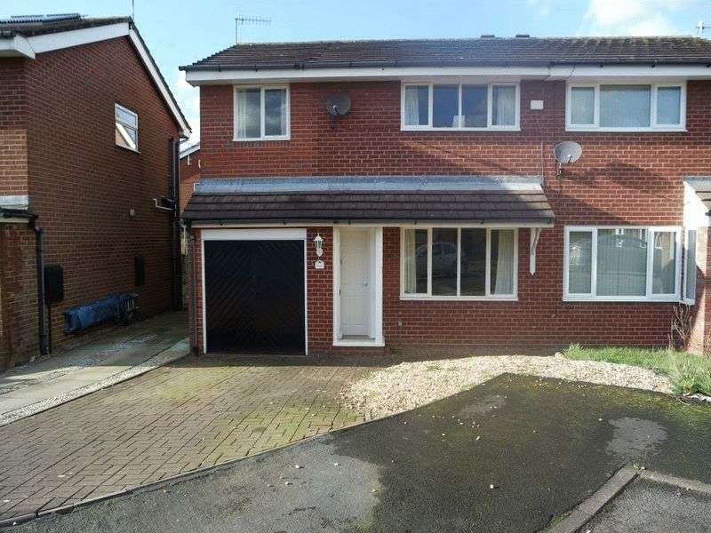 4 Bedrooms Semi Detached House for sale in Aegean Close, Trentham, Stoke-On-Trent, ST4 8UL