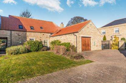 3 Bedrooms Link Detached House for sale in Hallgarth Court, Newsham, Richmond, North Yorkshire
