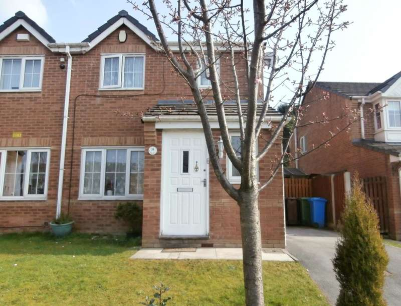 3 Bedrooms Semi Detached House for sale in Shadowbrook Close, Oldham, OL1