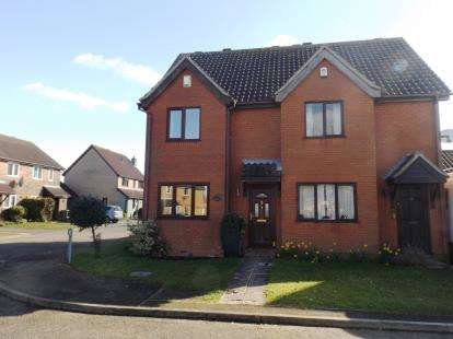 2 Bedrooms Semi Detached House for sale in Attleborough, Norfolk
