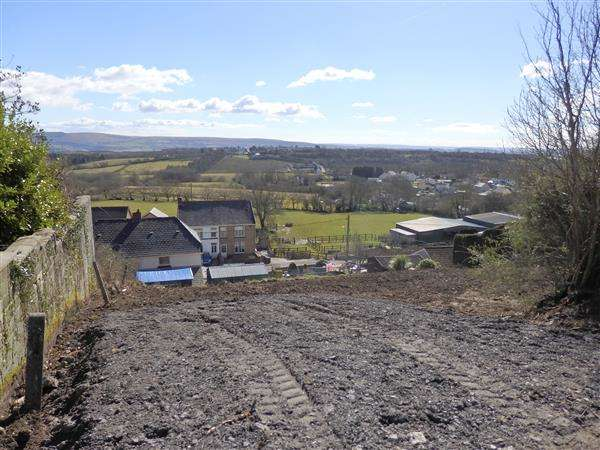 Plot Commercial for sale in Building Plot, (To the rear of 1, Castle Villas) Maesybont Road, GORSLAS, Llanelli