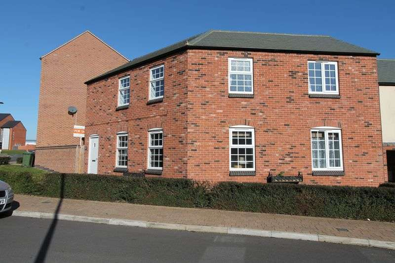 2 Bedrooms Flat for sale in Field Leys Way, Leicester, LE4 3EL