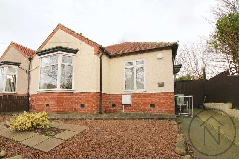 2 Bedrooms Semi Detached Bungalow for sale in Stooperdale Avenue, Cockerton, Darlington