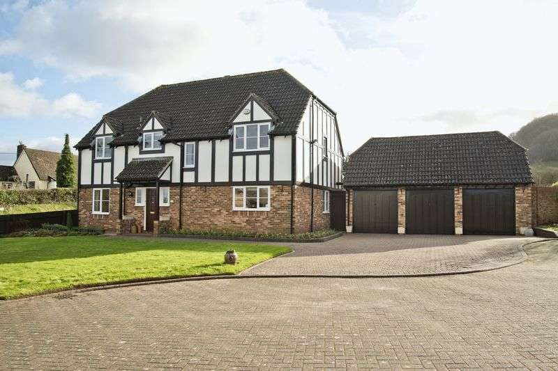 4 Bedrooms Detached House for sale in Lea, Nr Ross-On-Wye