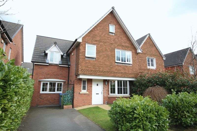 4 Bedrooms Detached House for sale in COVER DRIVE, Castleton, Rochdale OL11 3DB