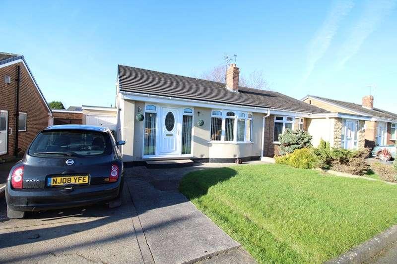 3 Bedrooms Semi Detached Bungalow for sale in Wooler Walk, Jarrow