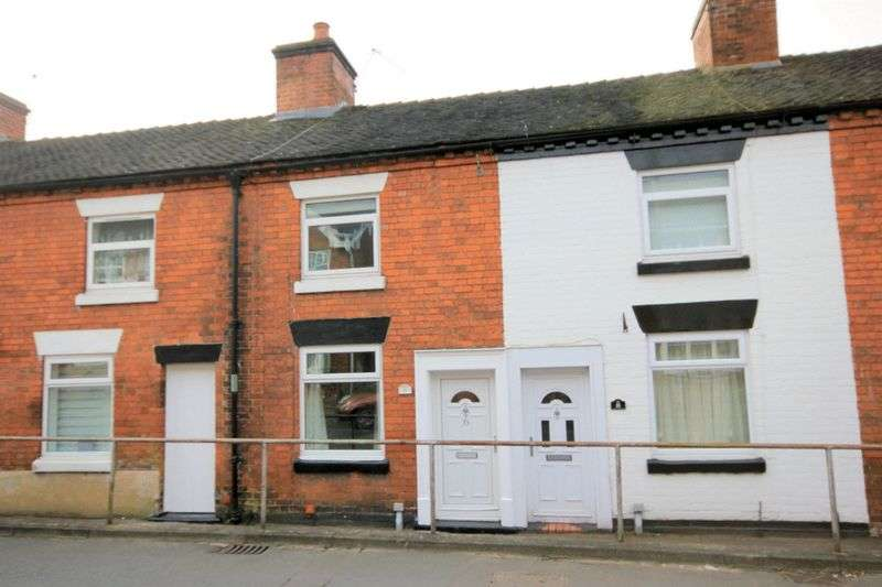 2 Bedrooms Terraced House for sale in Cross Street, Stone
